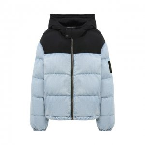 Куртка Denim X Alexander Wang. Цвет: синий