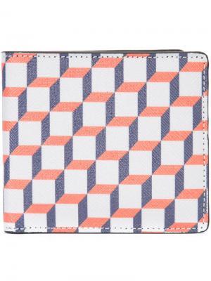 Бумажник с принтом Pierre Hardy. Цвет: многоцветный