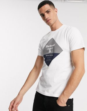 Белая футболка -Белый Barbour Beacon