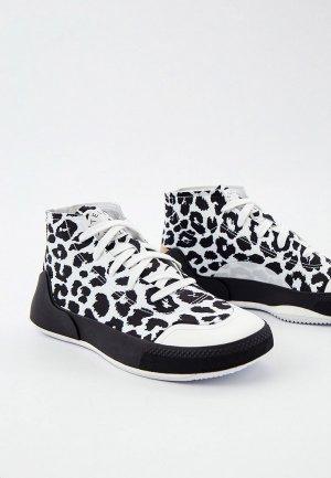 Кроссовки adidas by Stella McCartney ASMC TREINO MID PRINTED. Цвет: белый