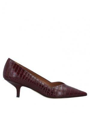 Туфли BRUNO MAGLI. Цвет: красно-коричневый