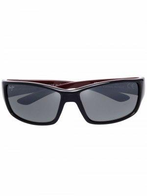 Солнцезащитные очки Localkine Maui Jim. Цвет: черный