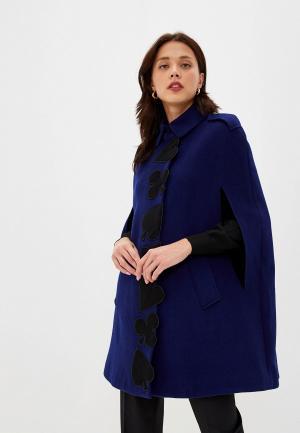 Пальто Boutique Moschino. Цвет: синий