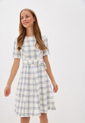 Платье Gregory. Цвет: белый