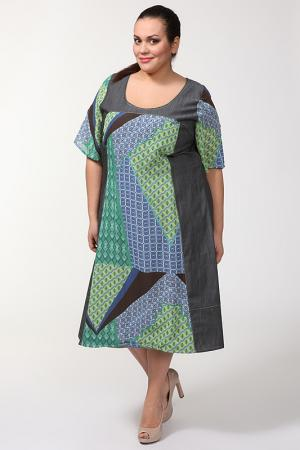 Платье Alain Weiz. Цвет: серый