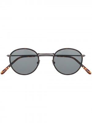 Солнцезащитные очки Yama E20 Waiting For The Sun. Цвет: коричневый