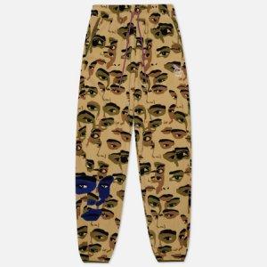 Мужские брюки x Kidsuper Studios All Over Print Fleece Puma. Цвет: камуфляжный