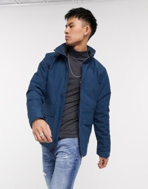 Куртка с карманами -Темно-синий Abercrombie & Fitch