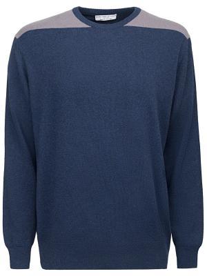 Кашемировый джемпер Johnstons. Цвет: синий