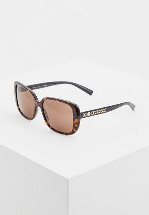Очки солнцезащитные Versace VE4357 108/73. Цвет: коричневый