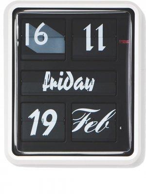 Большие настенные часы Established & Sons. Цвет: черный