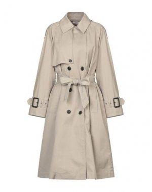 Легкое пальто MAURO GRIFONI. Цвет: песочный