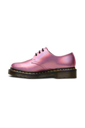 Полуботинки Dr. Martens. Цвет: розовый