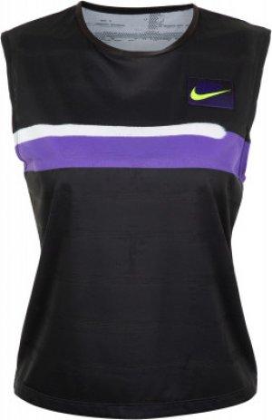 Майка женская Court Slam, размер 42-44 Nike. Цвет: фиолетовый