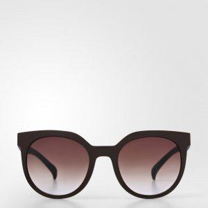 Очки Солнцезащитные Originals adidas. Цвет: черный