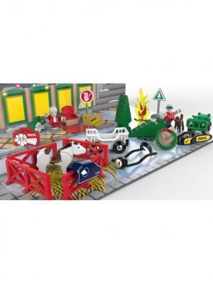 Подарочный набор Рождественский Календарь BRIO. Цвет: зеленый