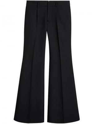 Расклешенные классические брюки Burberry. Цвет: черный