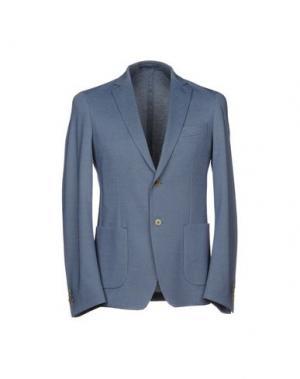 Пиджак BILLTORNADE. Цвет: синий