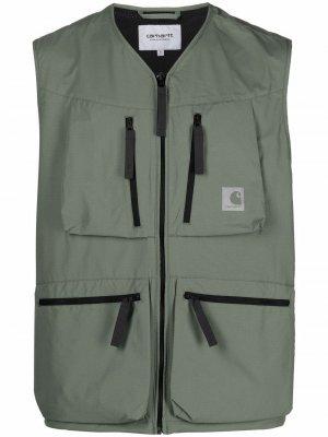 Жилет Hurst с карманами Carhartt WIP. Цвет: зеленый