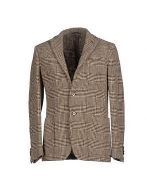Пиджак SIVIGLIA. Цвет: темно-коричневый