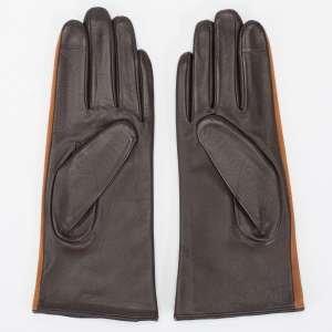 Перчатки Alla Pugachova AP33415 cuoio/brown-20Z. Цвет: коричневый/коричневый