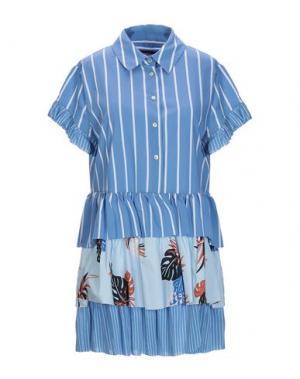 Блузка GUARDAROBA by ANIYE. Цвет: небесно-голубой