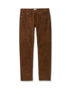 Повседневные брюки J.CREW. Цвет: коричневый