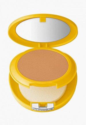 Пудра Clinique Солнцезащитная минеральная Mineral Powder Makeup for Face SPF 30. Цвет: бежевый