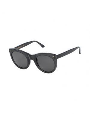 Солнечные очки MOVITRA. Цвет: черный