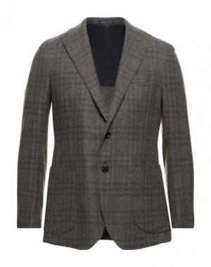 Пиджак MAXI HO. Цвет: темно-коричневый