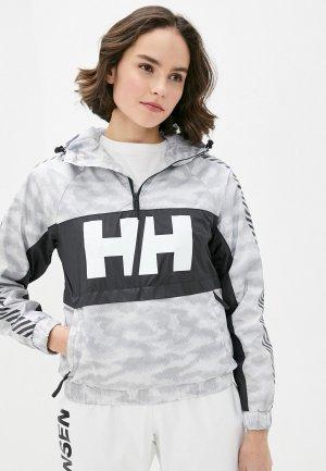 Куртка Helly Hansen W VECTOR PACKABLE WIND ANORAK. Цвет: серый