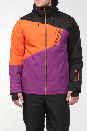 Сноубордическая куртка EMILIO Five seasons. Цвет: черный
