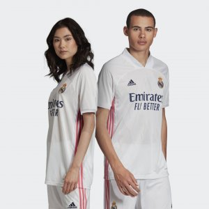 Домашняя игровая футболка Реал Мадрид 20/21 Performance adidas. Цвет: белый