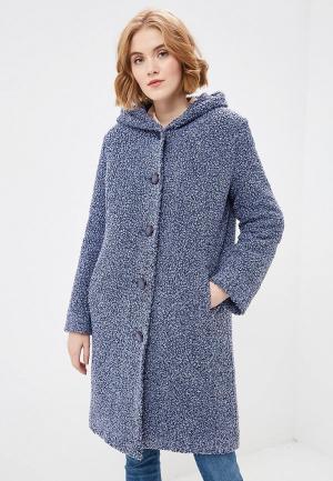 Пальто Ovelli. Цвет: синий