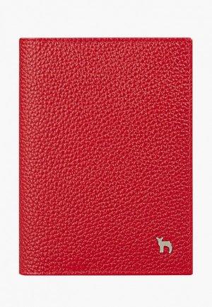 Обложка для документов Mumi. Цвет: красный