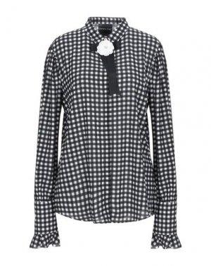 Pубашка DANIELA DREI. Цвет: черный