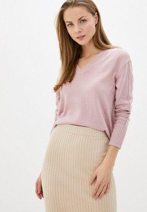 Пуловер Vilatte D39.446. Цвет: розовый
