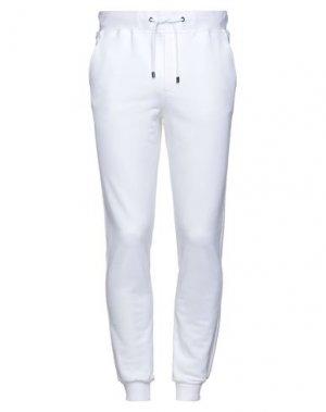Повседневные брюки PAL ZILERI. Цвет: белый