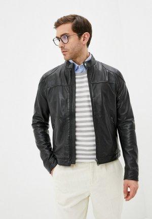 Куртка кожаная Jorg Weber PN715S1/1. Цвет: черный
