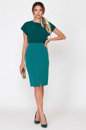 Платье Vittoria Vicci. Цвет: изумрудный