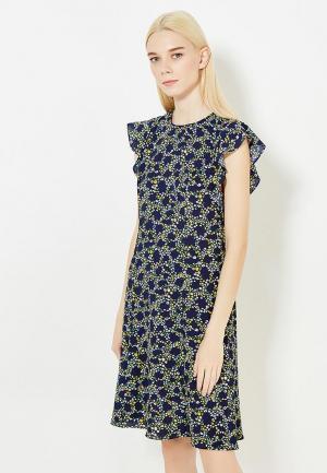 Платье Michael Kors MI048EWVBQ66. Цвет: синий