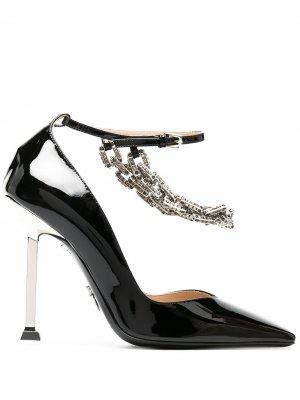 Лакированные туфли-лодочки Archive 105 Cesare Paciotti. Цвет: черный