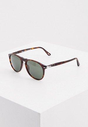 Очки солнцезащитные Persol PO9649S 24/31. Цвет: коричневый
