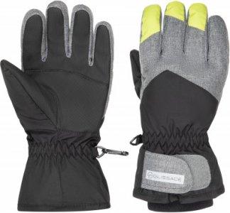 Перчатки для мальчиков , размер 4 Glissade. Цвет: черный
