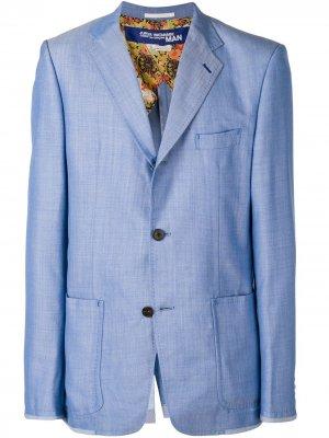 Fitted tailored jacket Junya Watanabe MAN. Цвет: синий