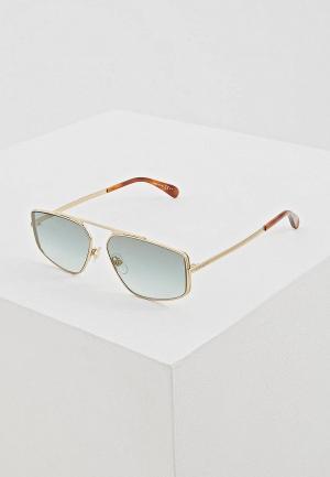 Очки солнцезащитные Givenchy GI007DUEQPE1. Цвет: золотой