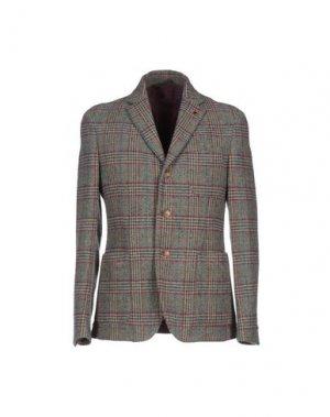 Пиджак SIVIGLIA. Цвет: темно-зеленый