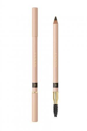 Crayon Définition Sourcils – Пудровый карандаш для бровей 6 Noir Gucci Beauty. Цвет: черный