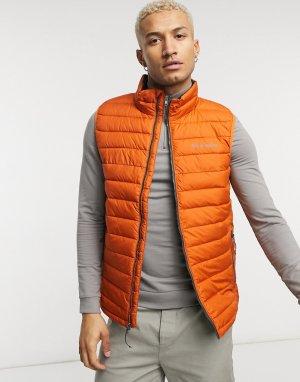 Оранжевый жилет Powder Lite-Серый Columbia