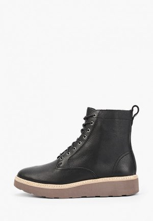 Ботинки Clarks Trace Pine. Цвет: черный